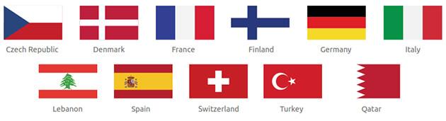 International Participating Pavilions