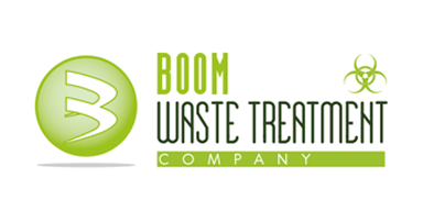 Boom waste treatment logo